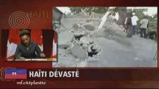 «Restez debout», dit Michaëlle Jean aux Haïtiens ●【HQ】●