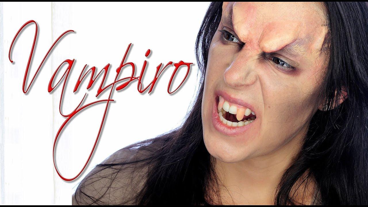 Tutorial maquillaje vampiro enfadado para hombre Makeup FX 57