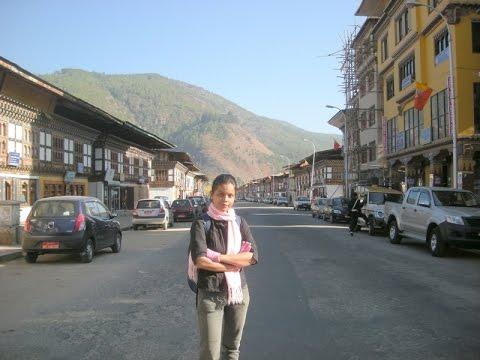 Paro Town View (Bhutan)