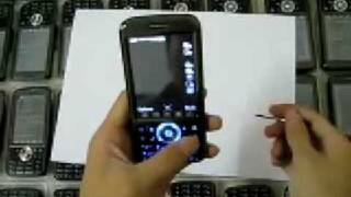 A008 Quad Band Dual SIM MP3 MP4 bluetooth mobile phone