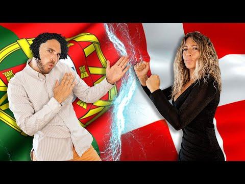 Portuguese People vs Danish People