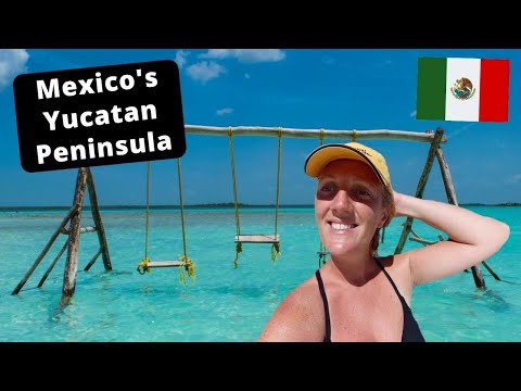 Top 9 Places To Visit in Mexico's Yucatan Peninsula: Holbox, Bacalar, Cozumel!