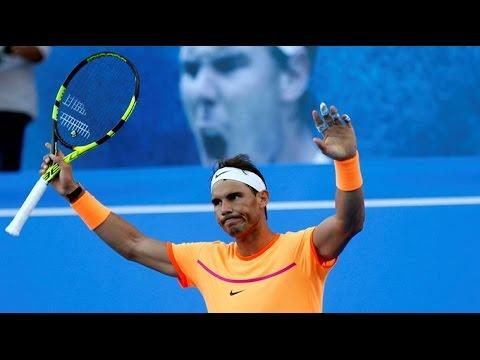 Rafael Nadal vs Alexandr Dolgopolov Brisbane International 2017 Highlight HD