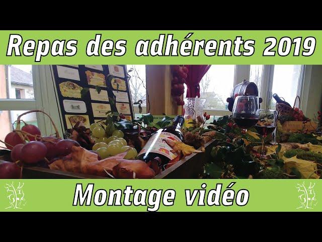 Repas adhérents novembre 2019 Beaujolais nouveau Montage Vidéo