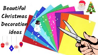 DIY: 3 Christmas Home Decoration Ideas | Easy Craft for Christmas 2019