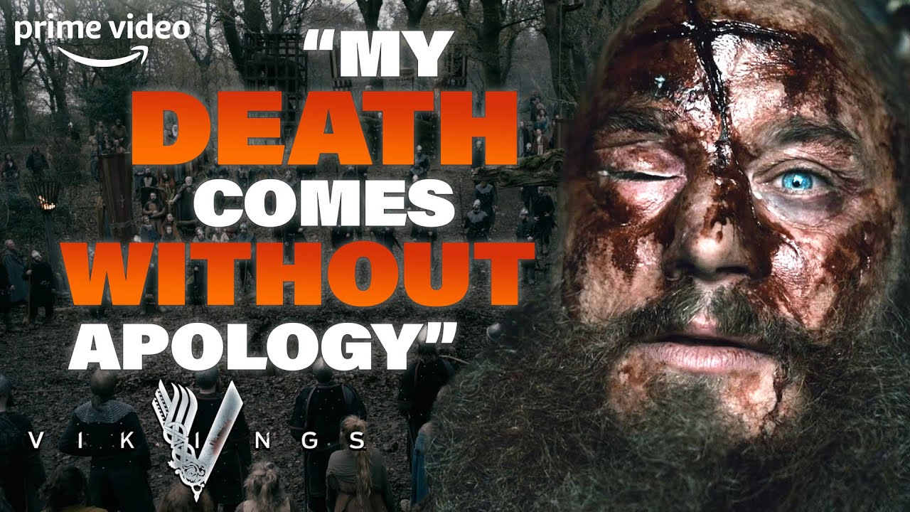 Download The Death of Ragnar Lothbrok and His Final Speech | Vikings | Prime Video