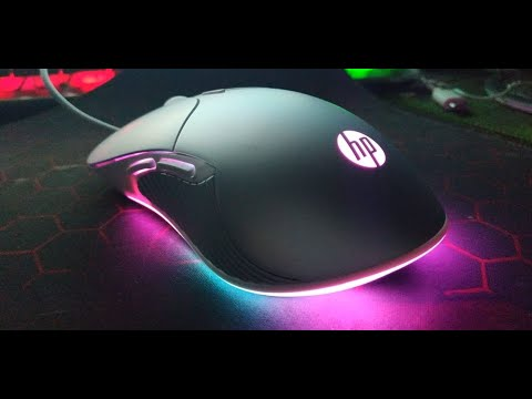 Мышка HP Gaming Mouse M280 RGB  и пара мелочей.