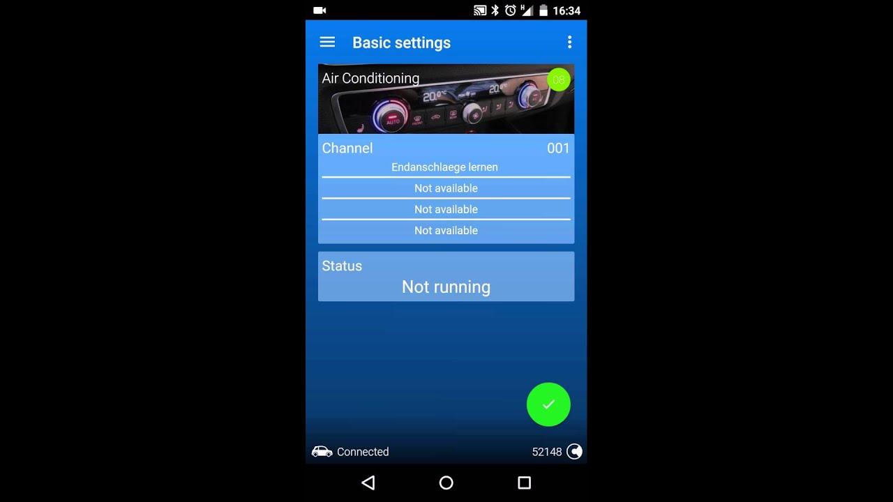 OBDeleven PRO - Basic settings