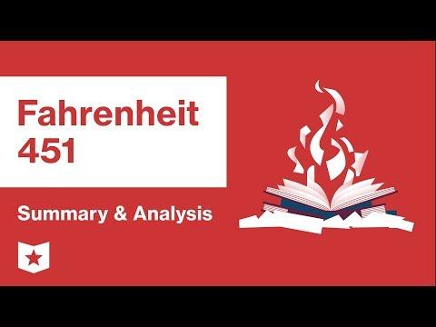 Fahrenheit 451  | Summary & Analysis | Ray Bradbury