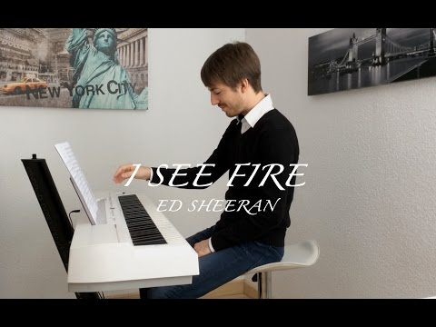⇨  I see fire - Ed Sheeran / David de Miguel Piano Cover