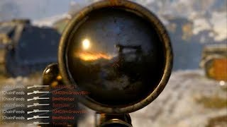 How To Snipe in COD WW2 (Quickscoping/Snipe Faster/Sniper Gameplay)