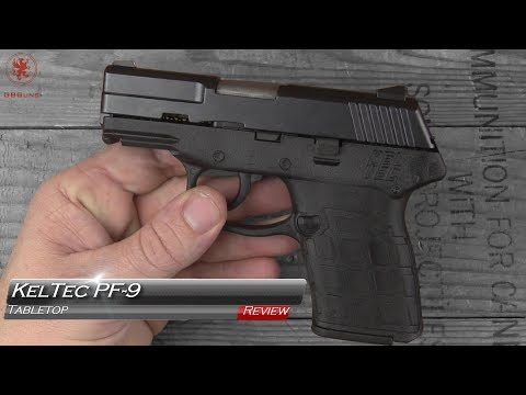 KelTec PF9 Tabletop Review and Field Strip