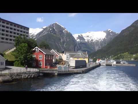 Sognefjord Bergen Norway