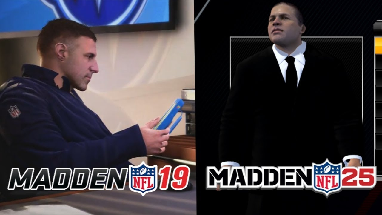 MADDEN 19 VS. MADDEN 25