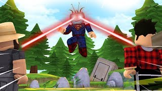 How To Become Superman In Roblox Superhero Tycoon