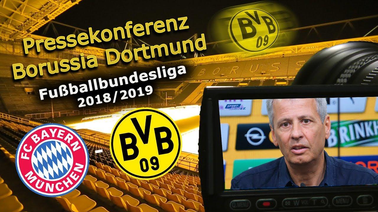 BVB-Pressekonferenz vor dem Spiel in München