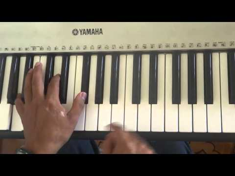 como tocar ritmo merengue en piano !!!