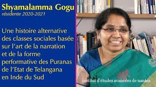 S. Gogu - Une Histoire Alternative Des Classes Sociales : Puranas De L'État Telangana En Inde Du Sud