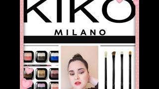 Haul Kiko Milano ( Sombras, labiales, Brochas) + REBAJAS/ Juncal Gonzalez