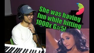 Vocal Coach Yazik REACTS to Ariana Grande - Focus Live at American Music Awards 2015