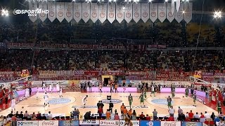 Olympiacos vs Panathinaikos 88-63 (Full Game) | 2016/17 Greek Basket League (17/10/2016)