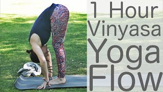 Total Body One Hour Vinyasa Flow: Yoga with Lesley Fightmaster