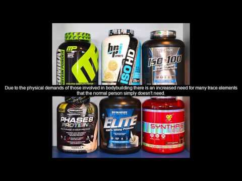 organic bodybuilding supplements