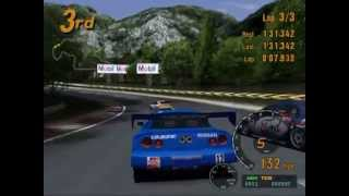Gran Turismo 3 A-Spec [PS2] Trial Mountain Circuit