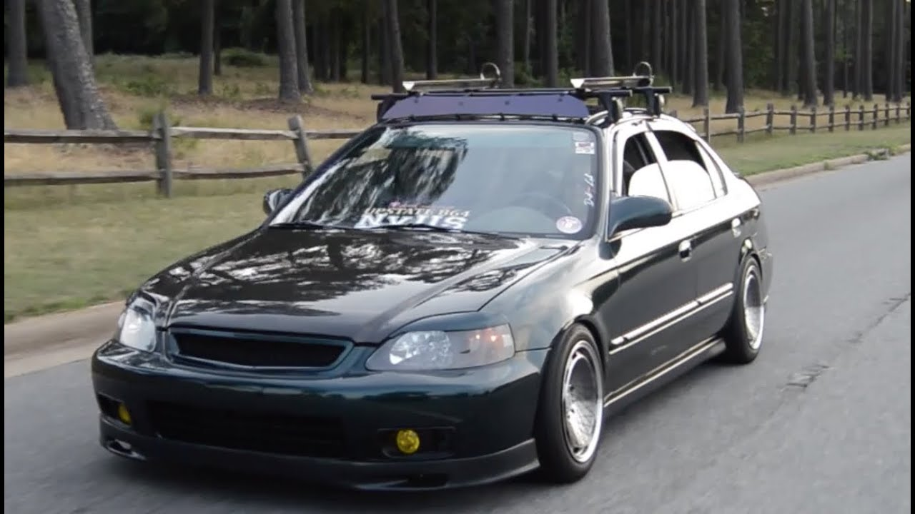 2016 Civic Roof Rack >> Static 99 Civic EJ6 - YouTube