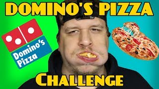 DOMINO'S PIZZA EATING CHALLENGE!