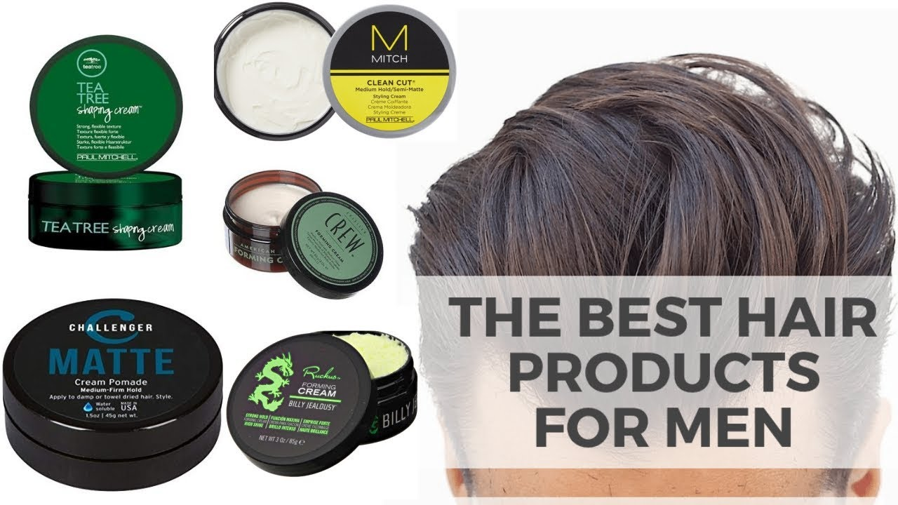 10 Best Hair Styling Products For Men 2019 Best Hair Styling Creams Men S Trendy Hairstyles Youtube