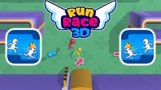 Run Race 3D - Gameplay - First Levels 1 - 4 (iOS - Android)