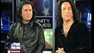Gene Simmons & Paul Stanley on Hannity & Colmes 2002