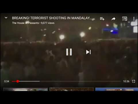 There were AT LEAST  2 SHOOTERS at Las Vegas county music concert!