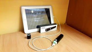 Портативное зарядное устройство с фонариком обзор Powerbank C2