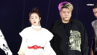 Super Junior Feat Irene - Lo Siento - SMTWON in Chile [Fancam]