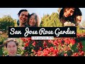 ZAC & CHERIE ROAD TRIPPING AMERICA: San Jose Rose Garden, California | Travel Vlog 2019 (Part 3)