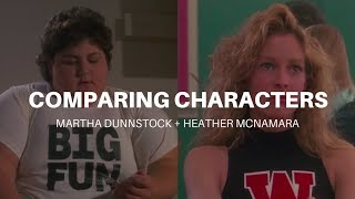 heather mcnamara martha dunnstock character analysis video essay