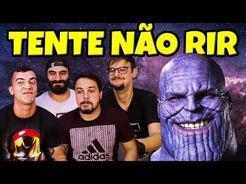 TENTE NÃO RIR de MEMES DE VINGADORES ft GOL CONTRA