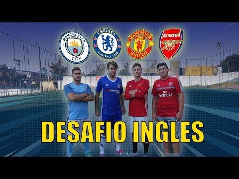 DESAFIO ENTRE OS RIVAIS INGLESES!! (Manchester Untd. Manchester City, Arsenal e Chelsea!!)