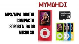 MP3 Mymahdi, Reproductor Digital y Portátil de MP3, MP4 | UnBoxing y review en Español
