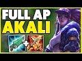 #1 AKALI WORLD INFINITE AP ONE-SHOT BUILD! (HUGE DAMAGE) - League of Legends