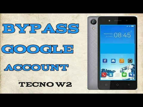 TECNO W2 FRP BYPASS NO PC / NO CABLES - YouTube