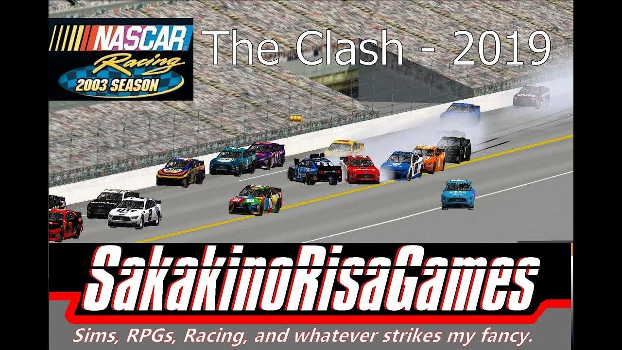 NASCAR Racing 2003 Season: MENCS 2019 Mod - Clash at Daytona