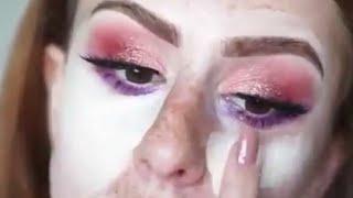 Incredible makeup transformation