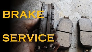 How to Service your Front Brakes