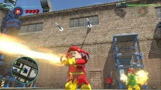 LEGO Marvel Super Heroes - Phoenix, Dark Phoenix and Jean Grey Free Roam Gameplay