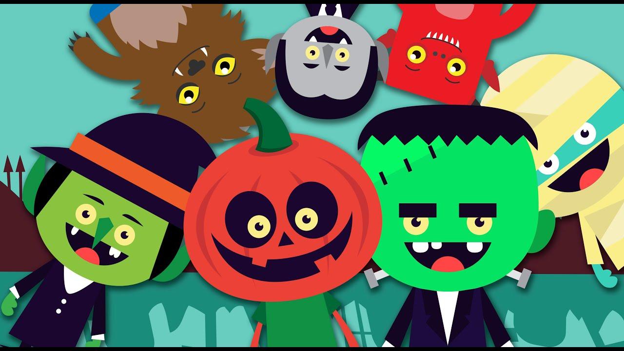 Cuento de halloween para ni os aprender vocabulario de - Fiesta de halloween infantil ...