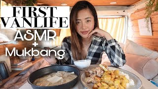 LIVING IN MY VAN | Cooking Japanese Curry ASMR + Mukbang