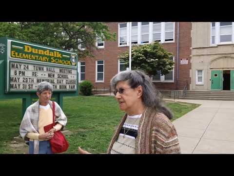 TENSE MEETING OVER HISTORIC DUNDALK ELEMENTARY SCHOOL